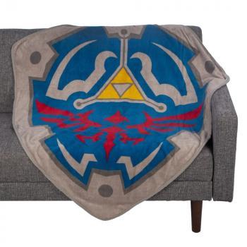 Zelda Fleece Throw Blanket- Zelda & Link
