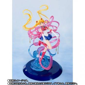 Sailor Moon FiguartsZero Chouette Figure - Sailor Moon Crystal Power Make Up