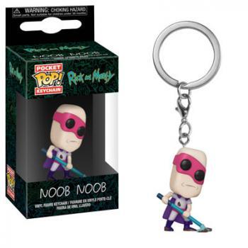 Rick and Morty Pocket POP! Key Chain - Noob-Noob