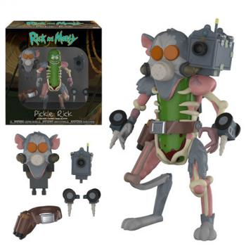 Rick and Morty Action Figure - Pickle Rick Rat Suit