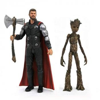 Avengers Infinity War Marvel Selects Action Figure - Thor