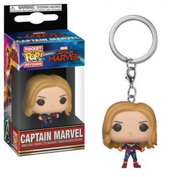 Captain Marvel Pocket POP! Key Chain - Captain Marvel
