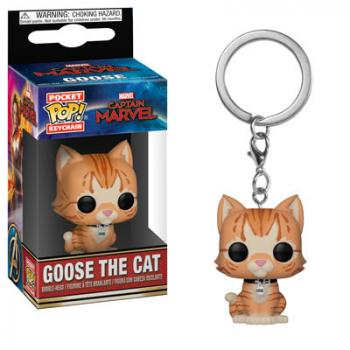 Captain Marvel Pocket POP! Key Chain - Goose the Cat