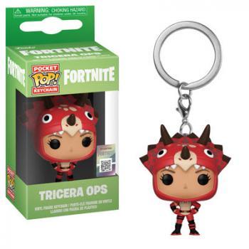 Fortnite Pocket POP! Key Chain - Tricera Ops