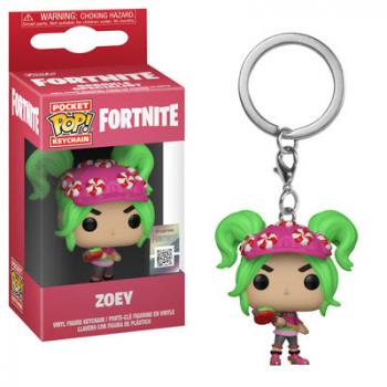 Fortnite Pocket POP! Key Chain - Zoey