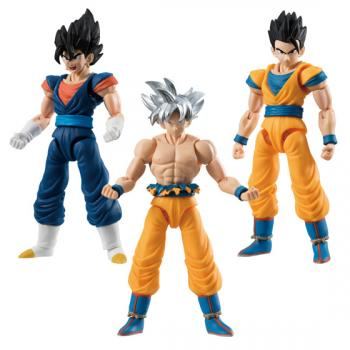 Dragon Ball Super Mini Action Figures - Shodo 6 (Display of 3)