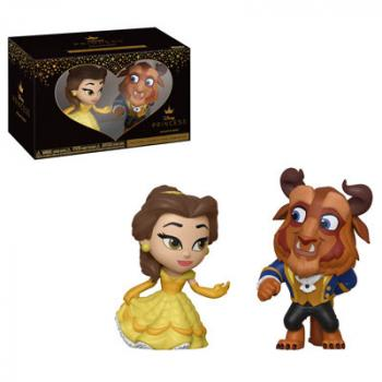 Beauty and the Beast Mini Vinyl Figures - Belle & Beast (Disney)