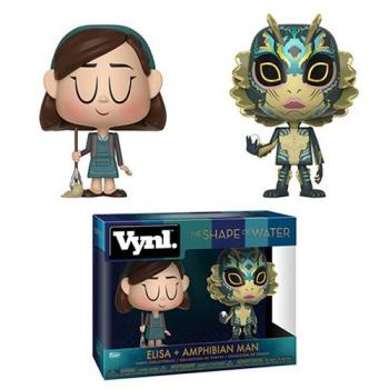 Shape of Water Vynl. Figure - Elisa & Amphibian Man (2-Pack)
