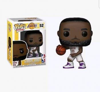 NBA Stars POP! Vinyl Figure - Lebron James (White) (Los Angeles Lakers) [STANDARD]