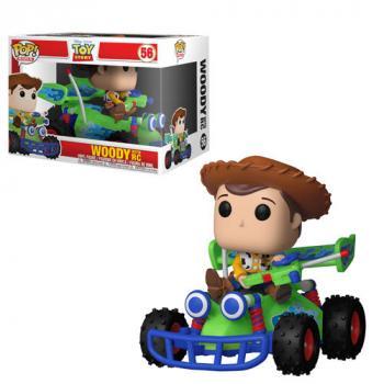 Toy Story POP! Rides Vinyl Figure - Woody w/ RC (Disney)
