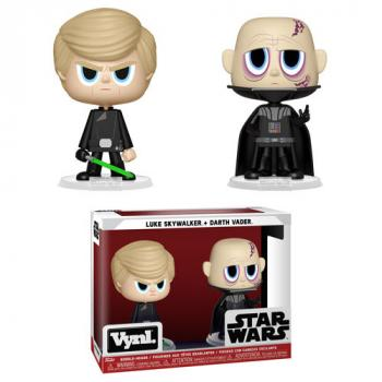 Star Wars Vynl. Figure - Luke & Darth Vader (2-Pack)
