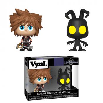 Kingdom Hearts 3 Vynl. Figure - Sora & Shadow Heartless (2-Pack)