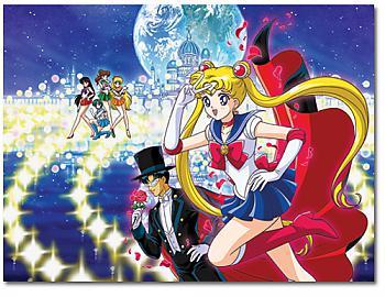 Sailor Moon Puzzle - Group