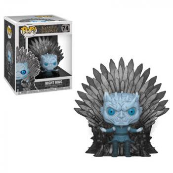 Game of Thrones POP! Deluxe Vinyl Figure - Night King Sitting on Iron Throne