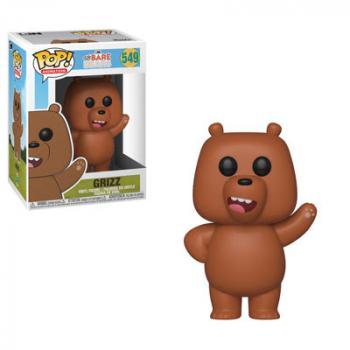 We Bare Bears POP! Vinyl Figure - Grizz