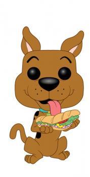 Scooby Scooby-Doo POP! Vinyl Figure - Doo w/ Sandwich
