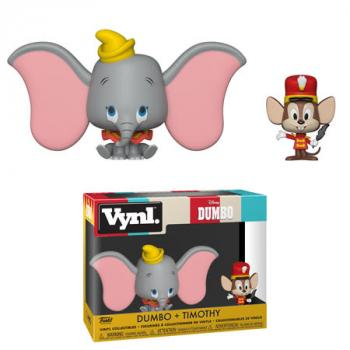 Dumbo Vynl. Figure - Dumbo & Timothy (2-Pack) (Disney)