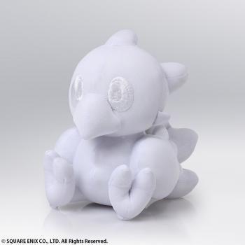 Final Fantasy Autograph Plush - Chocobo (White)
