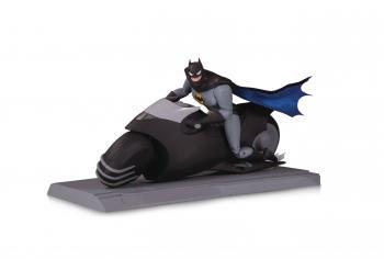 Batman Animated Series Action Figure Set - Batman & Batcycle