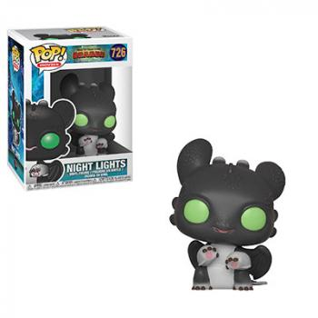 How to Train Your Dragon 3 POP! Vinyl Figure - Night Lights (Black Nose)