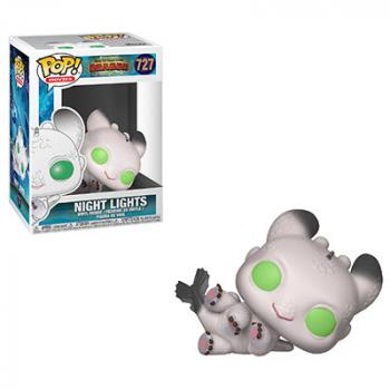 How to Train Your Dragon 3 POP! Vinyl Figure - Night Lights (White)