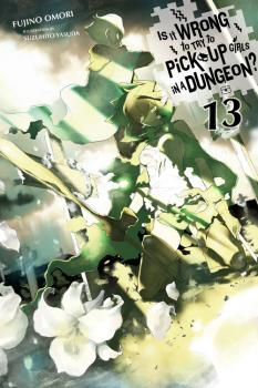 Is It Wrong to Try to Pick Up Girls in a Dungeon? Novel Vol. 13