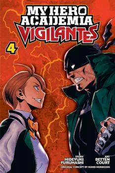My Hero Academia Vigilantes Manga Vol. 4