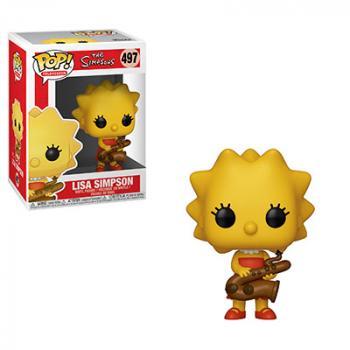 Simpsons POP! Vinyl Figure - Lisa (Saxaphone)