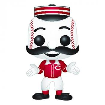 MLB Stars: Mascots POP! Vinyl Figure - Mr. Redlegs (Cincinnati Reds)