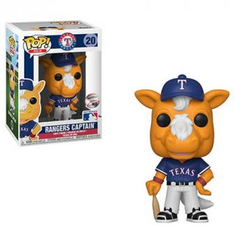 MLB Stars: Mascots POP! Vinyl Figure - Ranger's Captain (Texas Ranger's)