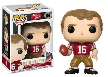 NFL Stars POP! Vinyl Figure - Joe Montana (San Francisco 49ers)