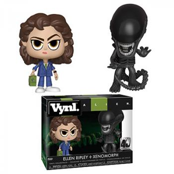 Aliens Vynl. Figure - Ellen Ripley & Xenomorph (2-Pack)