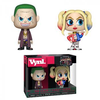 Suicide Squad Vynl. Figure - Joker & Harley Quinn (2-Pack)
