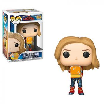 Captain Marvel POP! Vinyl Figure - Captain Marvel w/ Lunchbox