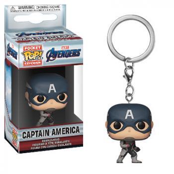 Avengers Endgame POP! Key Chain - Captain America