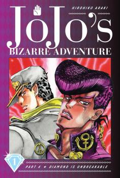 JoJo's Bizarre Adventure Part 4 Diamond Is Unbreakable Manga Vol. 1
