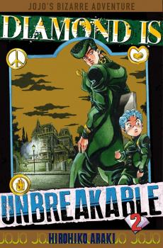 JoJo's Bizarre Adventure Part 4 Diamond Is Unbreakable Manga Vol. 2