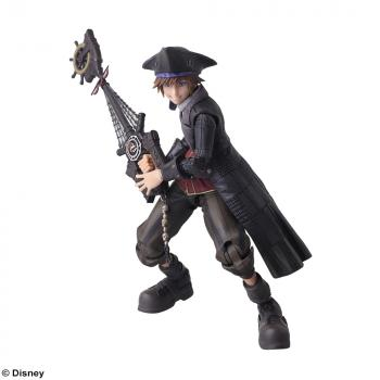 Kingdom Hearts 3 Bring Arts Action Figure - Pirate Sora