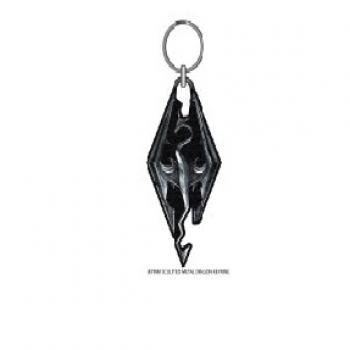 Elder Scroll Key Chain - Skyrim Dragon