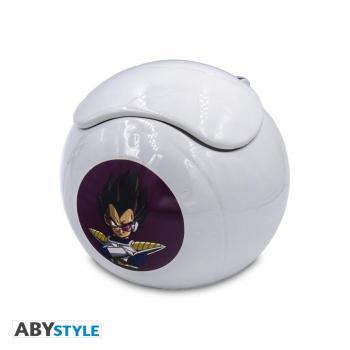 Dragon Ball Z Mug - Saiyan Space Pod Color Temp Change