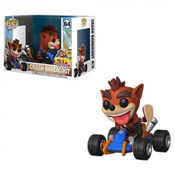 Crash Bandicoot POP! Rides Vinyl Figure - Crash Team