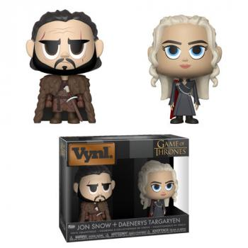 Game of Thrones Vynl. Figure - Jon Snow & Daenerys Targaryen (2-Pack)