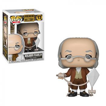 History Icons POP! Vinyl Figure - Benjamin Franklin