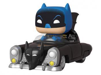 Batman: 80th Anniversary POP! Rides Vinyl Figure - Batman w/ Batmobile (1950)