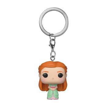Harry Potter Pocket POP! Key Chain - Ginny (Yule)