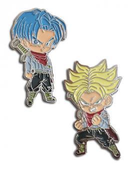 Dragon Ball Super Pins - Chibi Future Trunks & SS Trunks