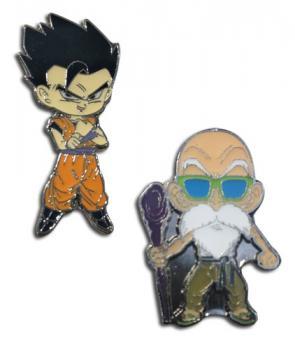 Dragon Ball Super Pins - Chibi Gohan & Roshi