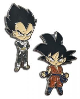 Dragon Ball Super Pins - Chibi Vegeta & Goku (Battle of the Gods)