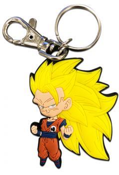 Dragon Ball Z Key Chain - SS3 Goku Chibi