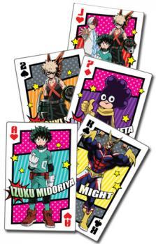 My Hero Academia Playing Cards - Hero Costume
